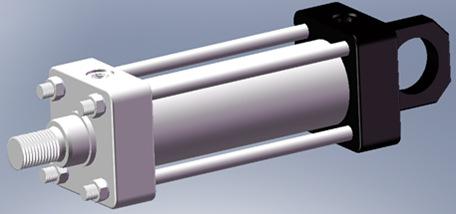 整理了低压拉杆液压缸的厂标